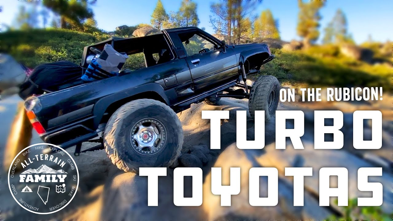Turbo Toyota 4Runner on the Rubicon Trail