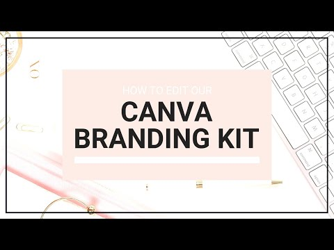 Canva Web Branding Kit Template