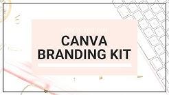 Canva Web Branding Kit Template