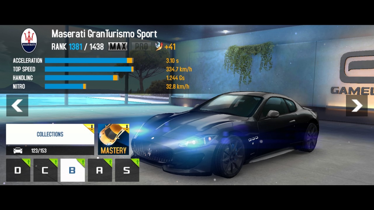 Upgrades   Maserati GranTurismo Sport   Asphalt 8: Airborne   Android    BlueStacks
