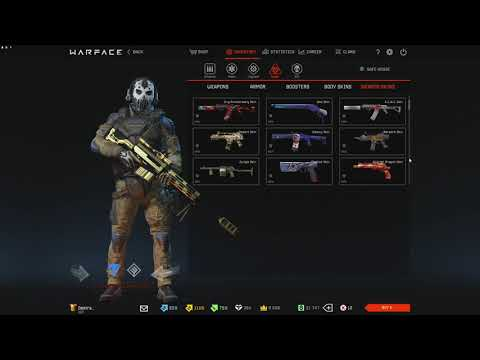 Warface Account Inventory 2019