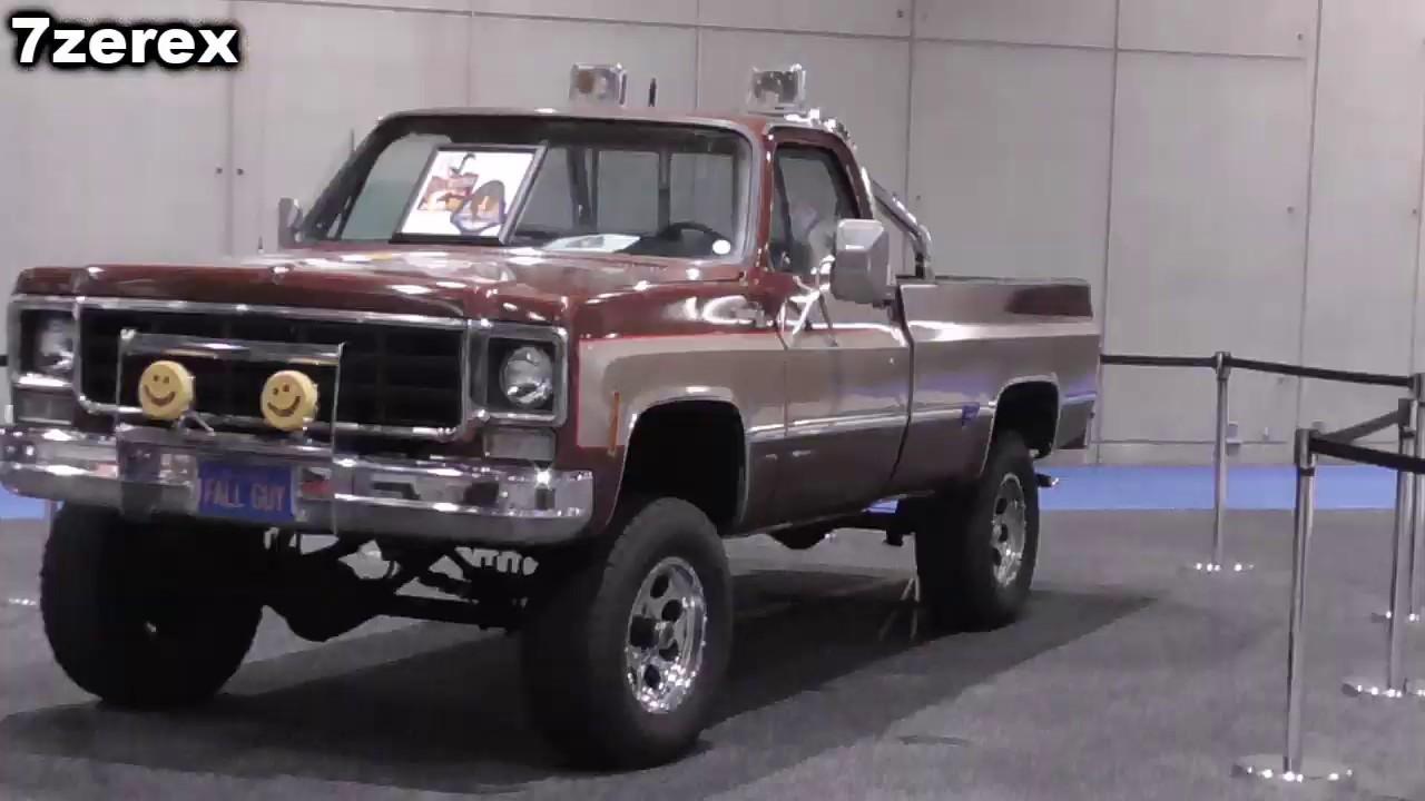 The Fall Guy Truck Replica Youtube