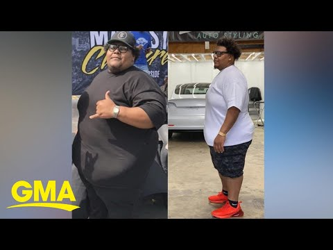 This man didn't let the pandemic stop his weight loss journey l GMA Digital