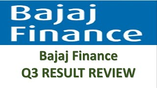 Bajaj Finance Q3 Result Review | Target Price | Buy | Sell | Hold | Share Market News