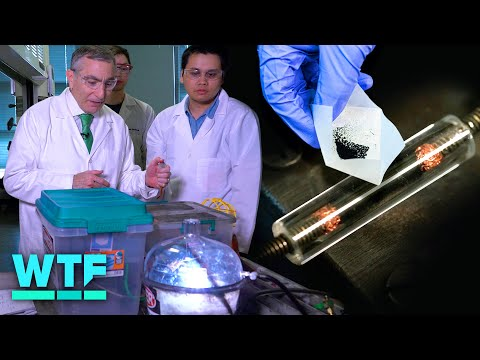 How flash graphene turns trash to treasure