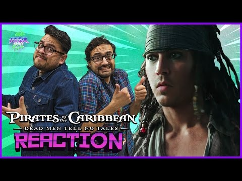 Pirates of the Caribbean: Dead Men Tell No Tales Trailer Reaction | Hyper RPG