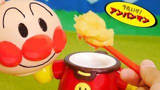 アンパンマンおもちゃアニメ たべっ子アイスでおいしいオレンジシャーベット 歌 映画 テレビ Anpanman Toys