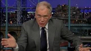 Letterman explains Super Bowl commercial