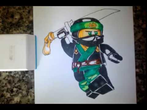 The Lego Ninjago Movie Draw Lloyd YouTube