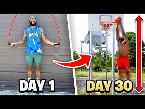 I Did THIS For 30 Days...Now I Can Dunk A Basketball At 5'10!