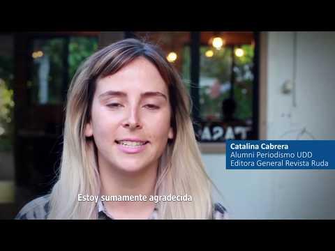 Catalina Cabrera: Alumni UDD y Editora Revista Ruda