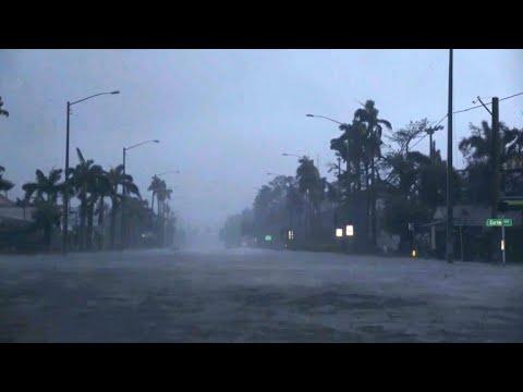 Hurricane Irma sweeps across central Florida