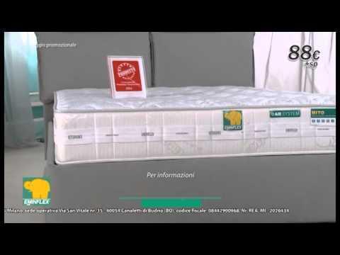 Materasso Eminflex Lato Estivo.Eminflex 90 Chiama 02 89919813 Youtube