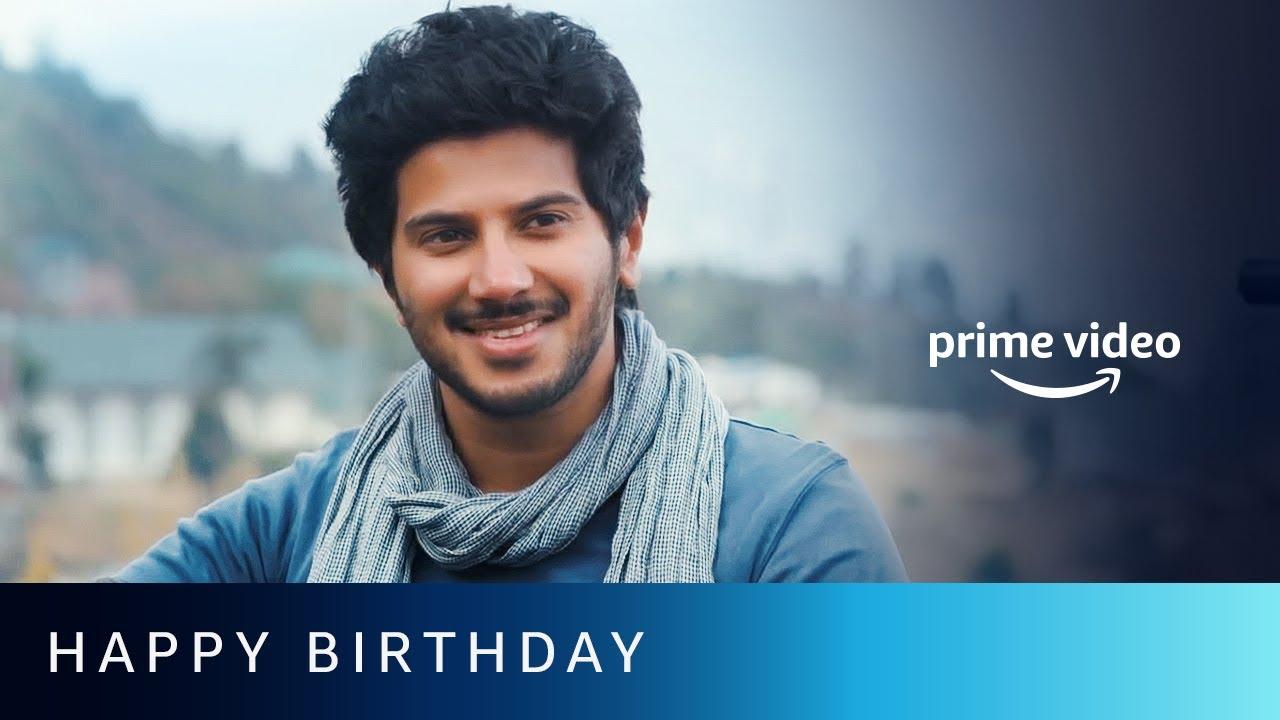 Happy Birthday Dulquer Salmaan | Amazon Prime Video #shorts
