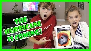 HURRICANE MATTHEW IS GOING TO HIT US! | We Are The Davises