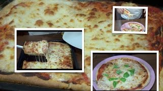 Como hacer PIZZA ITALIANA DE VERDAD!!! video completo.