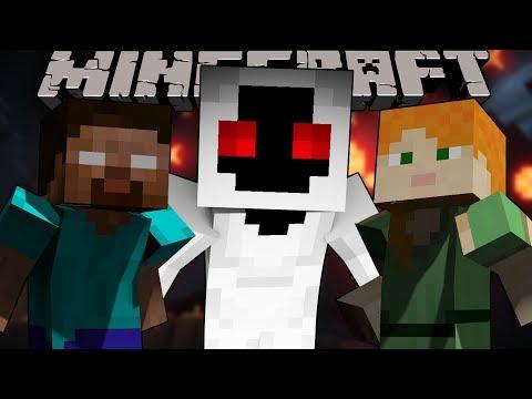 Mega Walls - HEROBRINE VS ALEX AND ENTITY 303 - Minecraft Animation