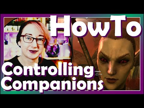 Controlling your Companions! | ESO Blackwood | ESO How To | Icy Talks 20210615 |