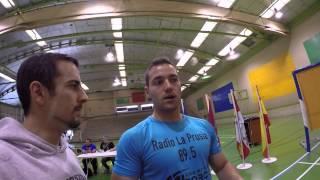 Campeonato de España de Powerlifting Medina del Campo Junio 2015 (Desde dentro)