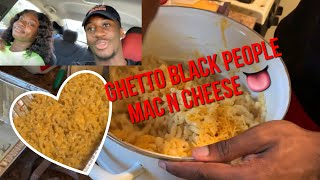 Cooking Ghetto Black People Mac N Cheese w/ Brittiney (Extremely Funny) !!
