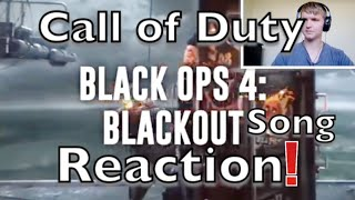 Call of Duty: Black Ops 4 Blackout Song   Round 'em Up   #NerdOut Reaction