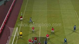 Pro Evolution Soccer 2009 Demo Gameplay Video