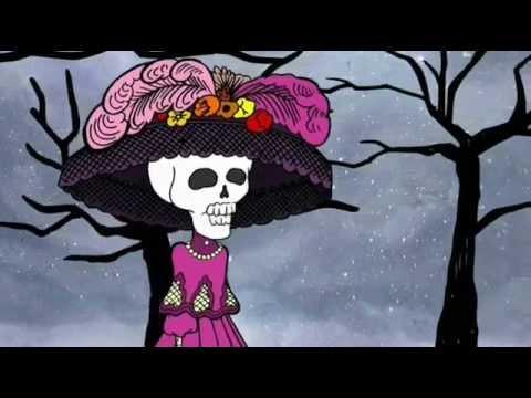 Calaveras animadas , La Catrina en Día de Muertos