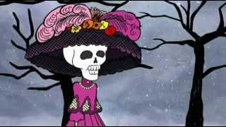 Calaveras animadas - La Catrina en Día de Muertos