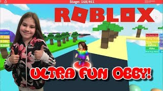 ROBLOX Ultra Fun Obby (Part 3) Levels 161 - 168