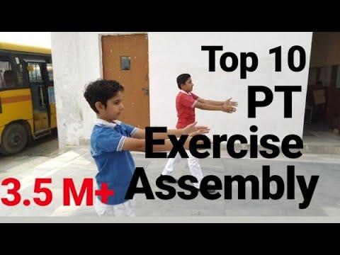 PT exercise Drills    Mass PT Drill    Schools Common Activity    Avinash Singh