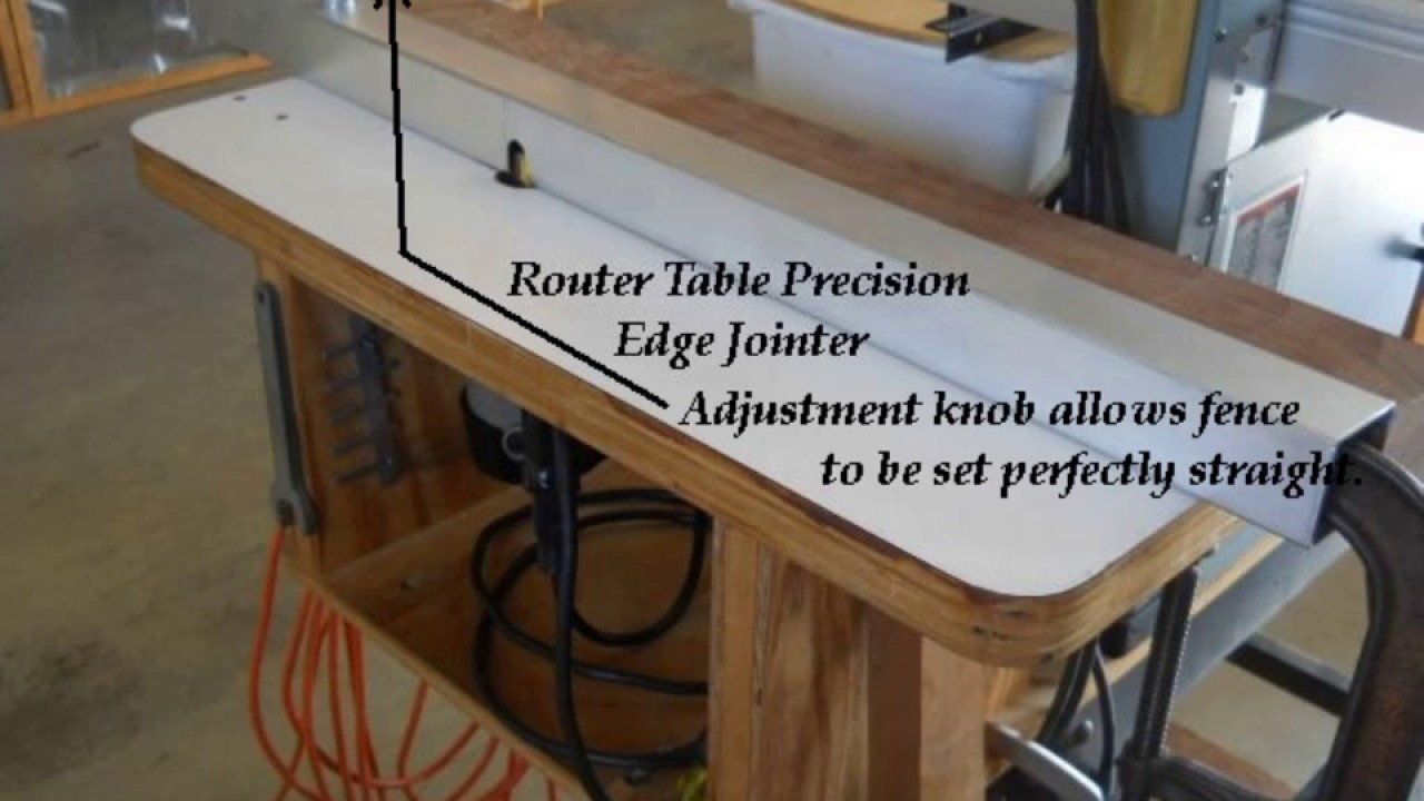 Router table edge jointer youtube router table edge jointer greentooth Choice Image