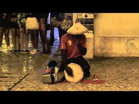 Street Drummer in Lisbon