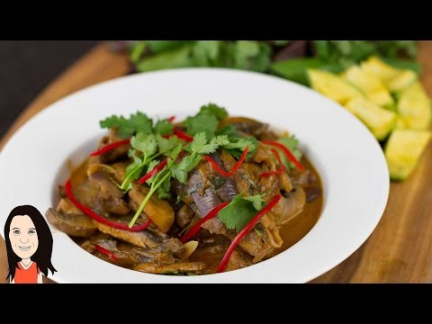 Thai Mushroom & Eggplant Curry + Guest Chef + Why I am Vegan!