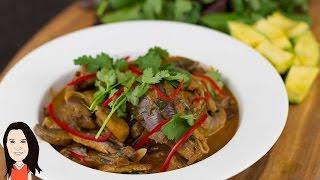 Thai Mushroom & Eggplant Curry + Guest Chef + Why I Am Vegan!