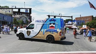 Police Get Ice Cream Truck To Deliver Smiles With Free 'Copsicles'
