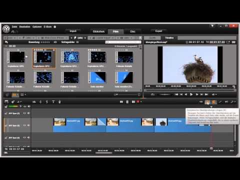 Erweiterte Überblendeffekte Pinnacle Studio 16 und 17 Video 52 von 114