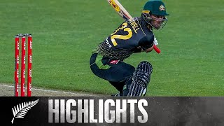 Maxwell 71 (30) and Agar 6-32 as Aus Take Win | 3rd KFC T20 SHORT HIGHLIGHTS | BLACKCAPS v Australia
