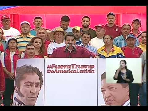 Respuesta de Maduro a Donald Trump tras amenaza de operación militar