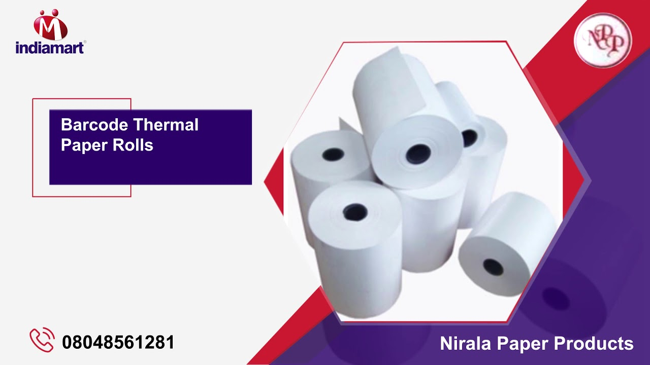 Thermal and POS Paper Roll Manufacturer