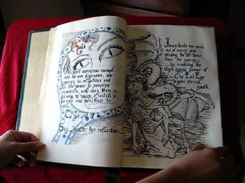 1 PARTE: Libro delle ombre STREGHE con pagine originali by
