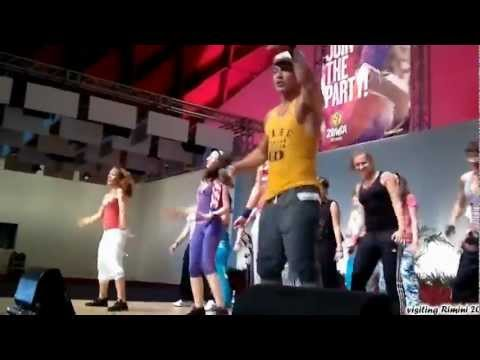 Zumba Split Croatia visits Beto in Rimini 2012: Mueve La Cadera Samba Cumbia