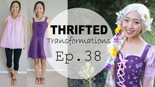 Thrifted Transformations | Ep. 38 Rapunzel Costume