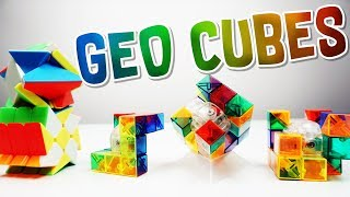 GEO CUBES & FISHER SKEWB UNBOXING!