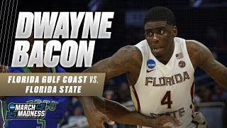 Florida State's Dwayne Bacon leads Seminoles past FGCU