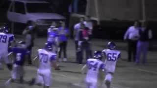 Curtis Hampton pick-6 for Bakersfield