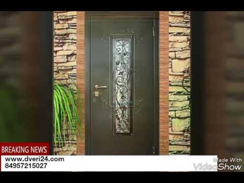 Завод Гарант. Двери металлические с ковкой и стеклопакетом. www.dveri24.com