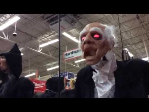 Home Depot Halloween Life Sizes 2016 Turning Zombie New