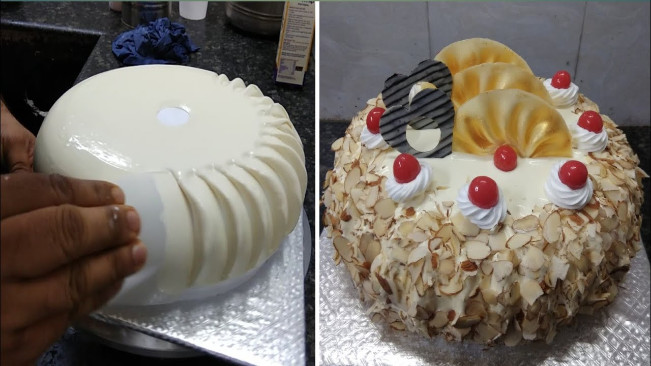 Milk Maid Almond cake Recipe  Milk Maid Cake Recipe  Milk Maid Almond Cake Design  Milk Maid Cake