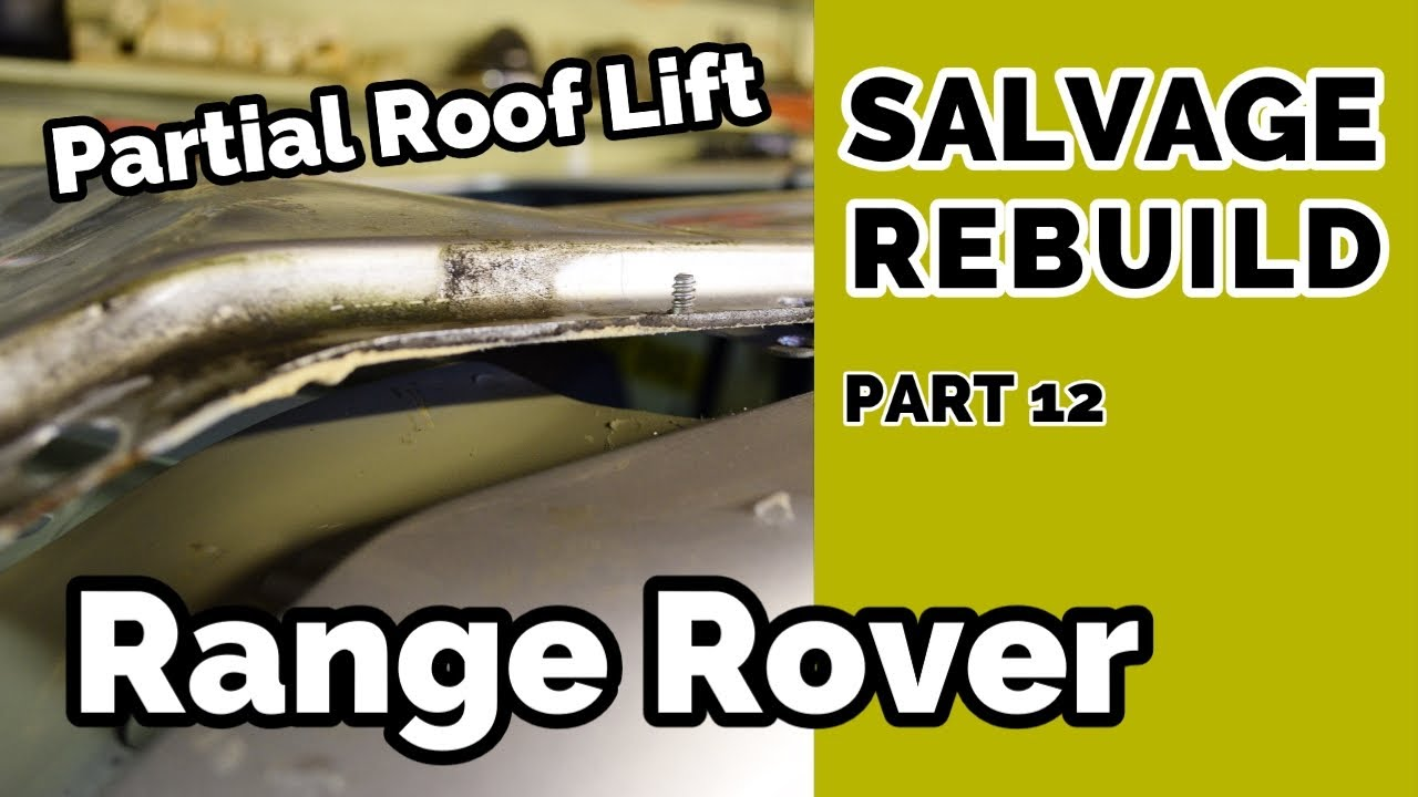 Salvage Range Rover L322 Partial Roof Lift Off
