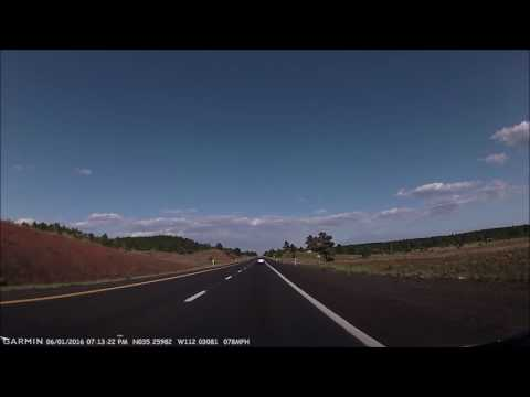 Grand Canyon #5: Historic Route 66 from Williams to Flagstaff on Interstate 40 / Route 66 2016-06-01
